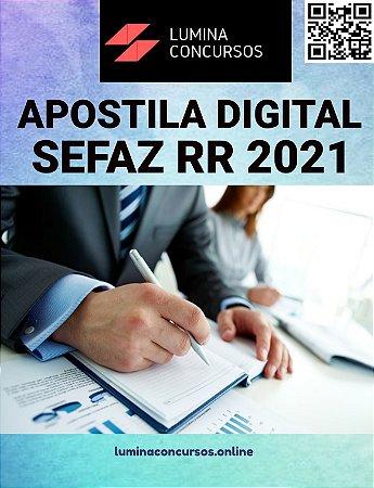 Apostila SEFAZ RR 2021 Auditor Fiscal de Tributos Estaduais