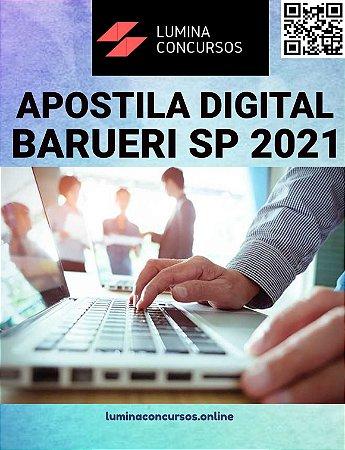 Apostila CÂMARA DE BARUERI SP 2021 Oficial Legislativo