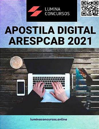 Apostila ARESPCAB 2021 Fiscal de Regulação