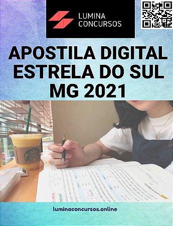 Apostila PREFEITURA DE ESTRELA DO SUL MG 2021 Fiscal de Tributos