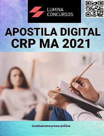 Apostila CRP MA 2021 Assistente Técnico Administrativo e Serviços