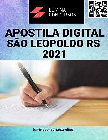 Apostila PREFEITURA DE SÃO LEOPOLDO RS 2021 Professor de Língua Portuguesa
