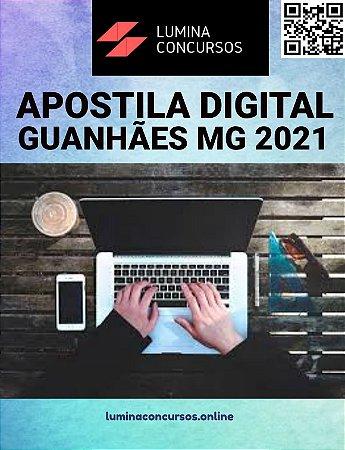Apostila PREFEITURA DE GUANHÃES MG 2021 Contador