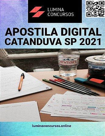 Apostila PREFEITURA DE CATANDUVA SP 2021 Professor II História