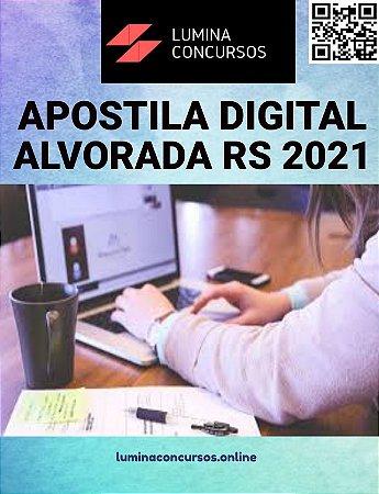 Apostila PREFEITURA DE ALVORADA RS 2021 Professor de Matemática
