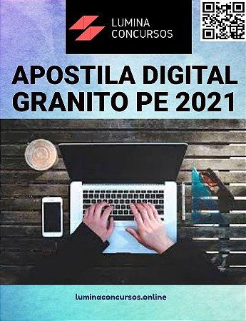 Apostila PREFEITURA DE GRANITO PE 2021 Psicólogo