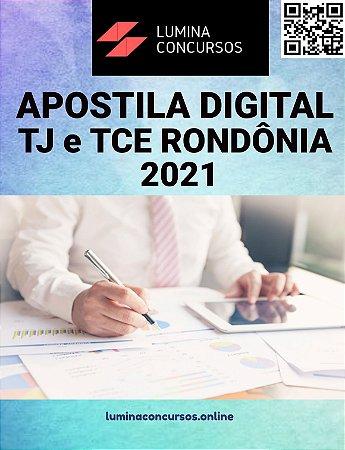Apostila TJ e TCE RONDÔNIA 2021 Analista Judiciário Assistente Social