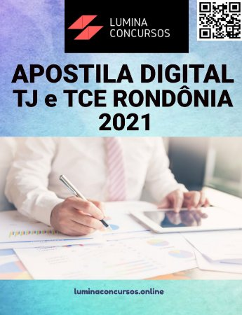 Apostila TJ e TCE RONDÔNIA 2021 Analista Judiciário Psicólogo