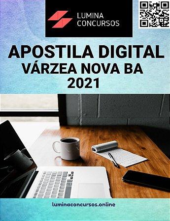 Apostila VÁRZEA NOVA BA 2021 Fisioterapeuta