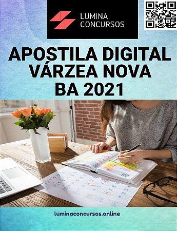 Apostila PREFEITURA DE VÁRZEA NOVA BA 2021  Professor N II Educação Física