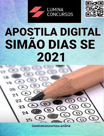 Apostila PREFEITURA DE SIMÃO DIAS SE 2021 Técnico em Informática