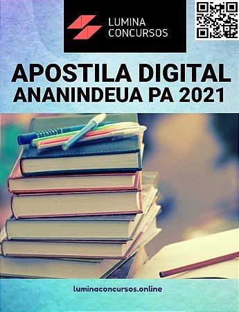 Apostilas PREFEITURA DE ANANINDEUA PA 2021 Analista Municipal Assistência Social