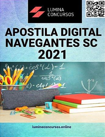 Apostila PREFEITURA DE NAVEGANTES SC 2021 Professor de Educação Física Educação Infantil e Ensino Fundamental