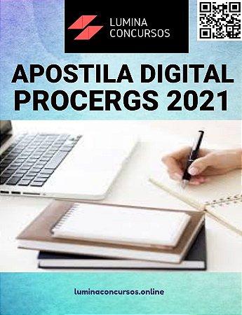 Apostila PROCERGS 2021 Assistente Técnico Atendimento, Operações ou Telecomunicações