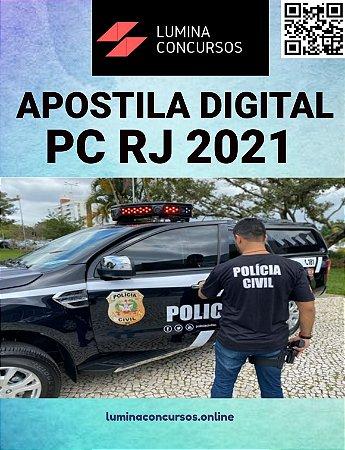 Apostila PC RJ 2021 Perito Criminal Engenharia Mecânica