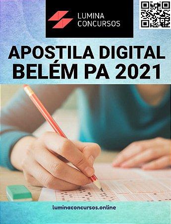 Apostila PREFEITURA DE BELÉM PA 2021 Técnico Pedagógico