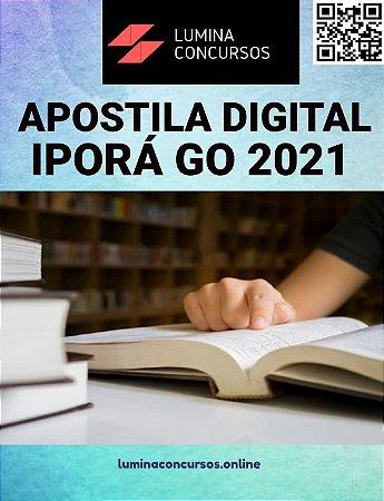 Apostila PREFEITURA DE IPORÁ GO 2021 Profissional de Educação Pedagogia