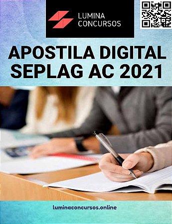 Apostila SEPLAG AC 2021 Psicólogo