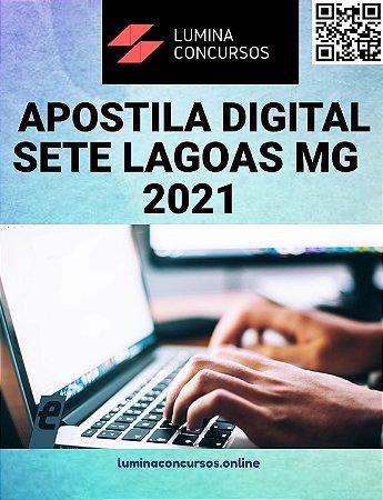 Apostila PREFEITURA DE SETE LAGOAS MG 2021 Agente Comunitário de Saúde