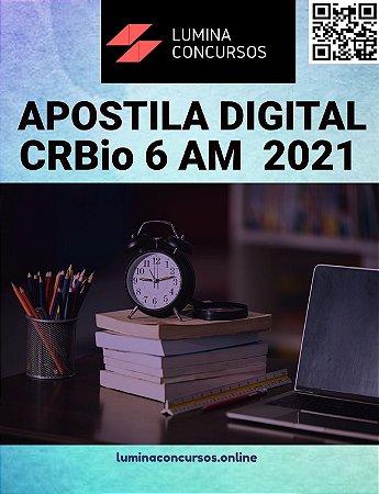 Apostila CRBio 6 AM 2021 Assistente Contábil Financeiro