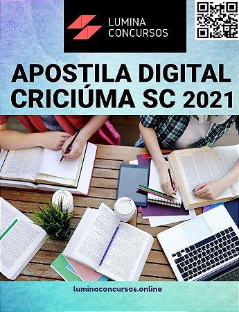 Apostila CÂMARA CRICIÚMA SC 2021 Tesoureiro