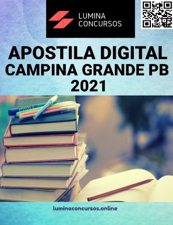 Apostila PREFEITURA DE CAMPINA GRANDE PB 2021 Fisioterapeuta