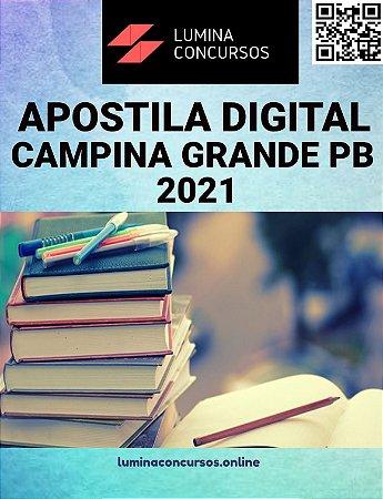 Apostila PREFEITURA DE CAMPINA GRANDE PB 2021 Assistente Social Educacional
