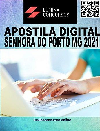 Apostila PREFEITURA DE SENHORA DO PORTO MG 2021 Fiscal de Obras e Posturas