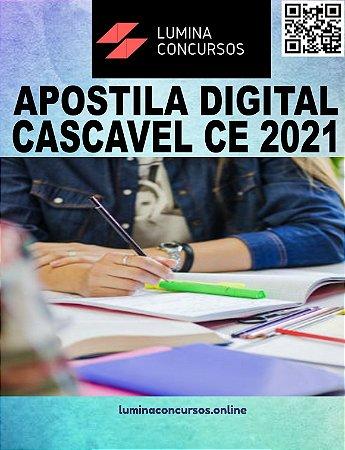 Apostila PREFEITURA DE CASCAVEL CE 2021 Professor PEB II - Arte
