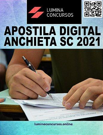 Apostila PREFEITURA DE ANCHIETA SC 2021 Auditor de Controle Interno