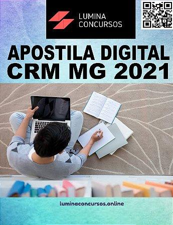 Apostila CRM MG 2021 Analista de Licitação
