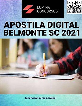 Apostila CÂMARA DE BELMONTE SC 2021 Técnico de Enfermagem