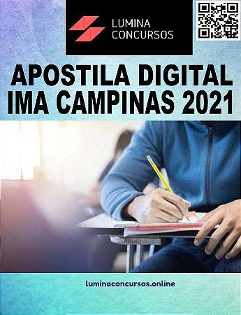 Apostila IMA CAMPINAS 2021 Técnico em Tecnologia da Informação I - Desenvolvimento