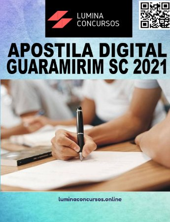 Apostila PREFEITURA DE GUARAMIRIM SC 2021 Professor de Língua Inglesa
