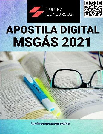 Apostila MSGÁS 2021 APO Direito