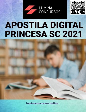 Apostila PREFEITURA DE PRINCESA SC 2021 Psicólogo