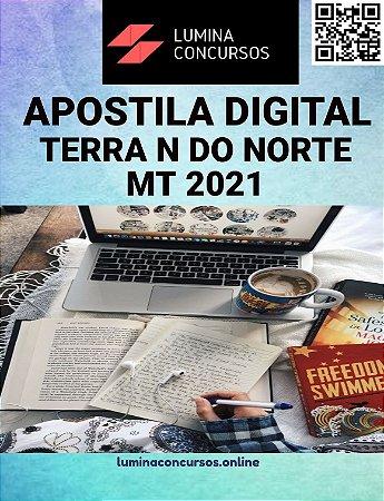Apostila PREFEITURA DE TERRA NOVA DO NORTE MT 2021 Professor - Inglês