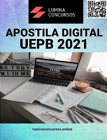 Apostila UEPB 2021 Técnico em Laboratório - Química (Análise de Água)
