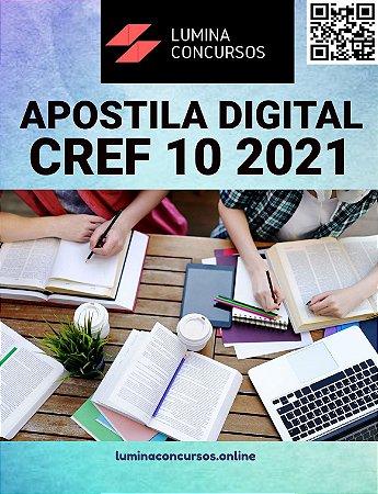 Apostila CREF 10 2021 Assistente Administrativo Financeiro