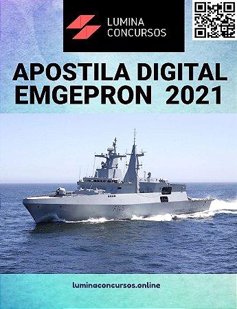 Apostila EMGEPRON 2021 Analista Técnico - Relações Internacionais