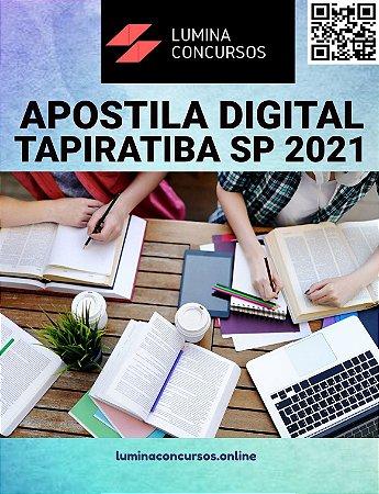 Apostila PREFEITURA DE TAPIRATIBA SP 2021 Professor de Educação Infantil