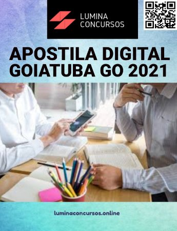 Apostila PREFEITURA DE GOIATUBA GO 2021 Educador Físico