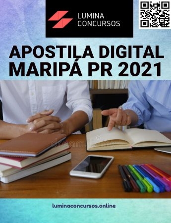 Apostila PREFEITURA DE MARIPÁ PR 2021 Educador Infantil