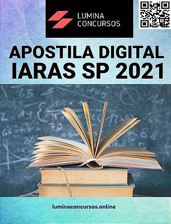 Apostila PREFEITURA DE IARAS SP 2021 Nutricionista