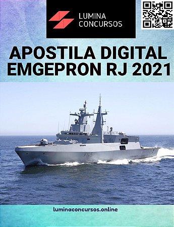 Apostila EMGEPRON RJ 2021 Técnico Segurança do Trabalho