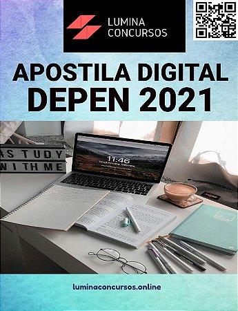 Apostila DEPEN 2021 Analista Técnico de Obras Engenharia Ambiental e Sanitarista