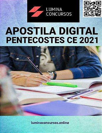 Apostila PREFEITURA DE PENTECOSTES CE 2021 Professor de Português do 6º ao 9º Ano