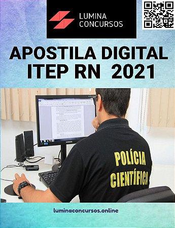 Apostila ITEP RN 2021 Agente Técnico Forense