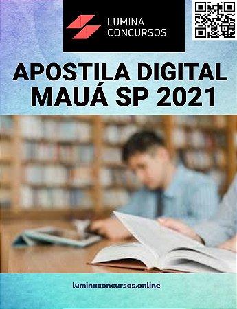 Apostila PREFEITURA DE MAUÁ SP 2021 Professor de Matemática