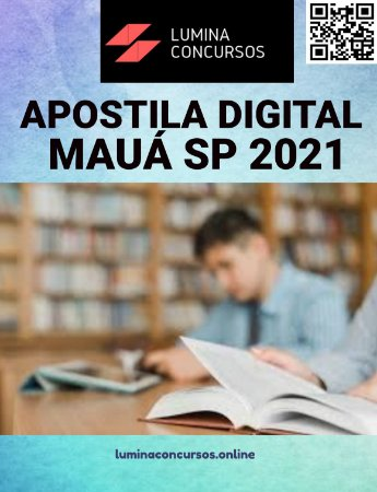 Apostila PREFEITURA DE MAUÁ SP 2021 Professor Especialista em Deficiência Intelectual